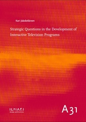 Strategic Questions in the Development of Interactive Television